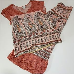 ☃️Skirt and blouse SET🎄